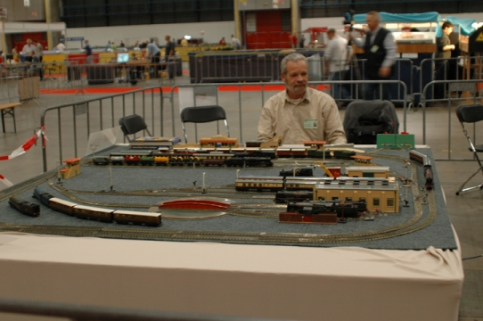 The Hornby Dublo layout