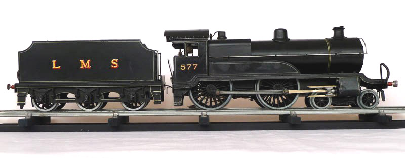 Leeds 4-4-0 LMS Freelance Tender Locomotive