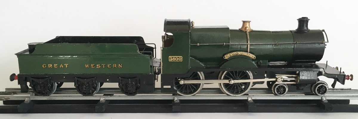 Leeds for Bassett Lowke 4-4-0 GWR Tender Locomotive