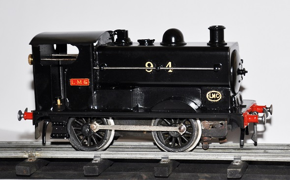 Leeds 0-4-0 Clockwork Standard Saddle Tank Locomotive