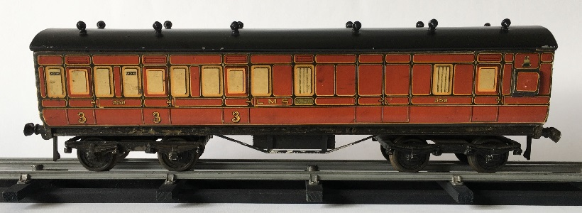 Leeds litho LMS Brake Composite