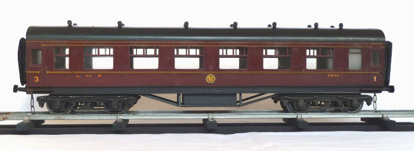 Leeds bakelite LMS Vestibule Carriage