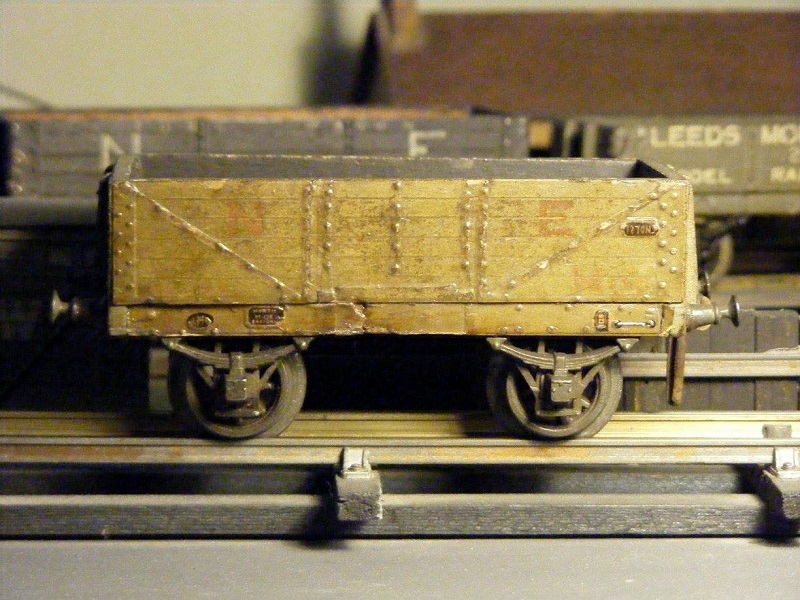 Leeds litho wooden Open Wagon